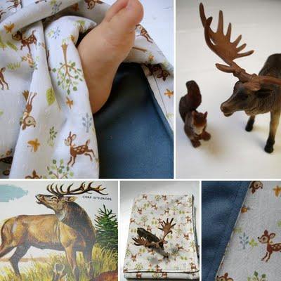 Couverture bambi vintage