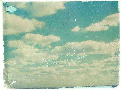 Polaroid nuages