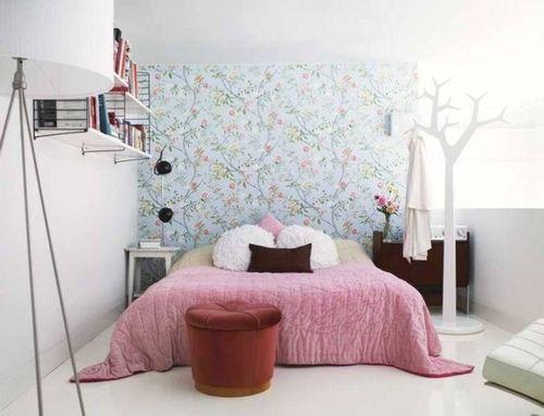 Chambre rose 9