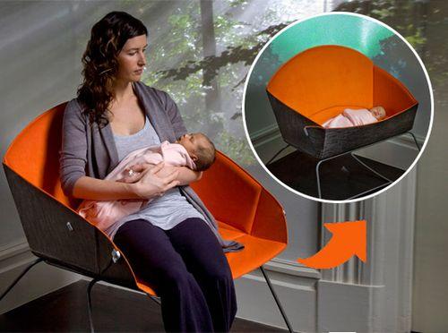 Berceau-fauteuil-allaitement