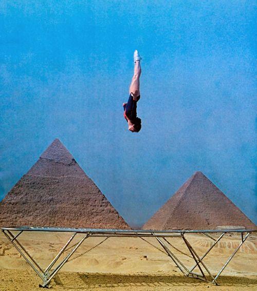 Glenn Sundby, Cairo, 1977