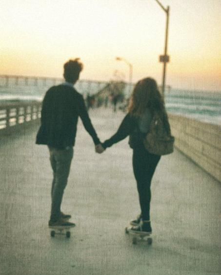 Kids in love skate